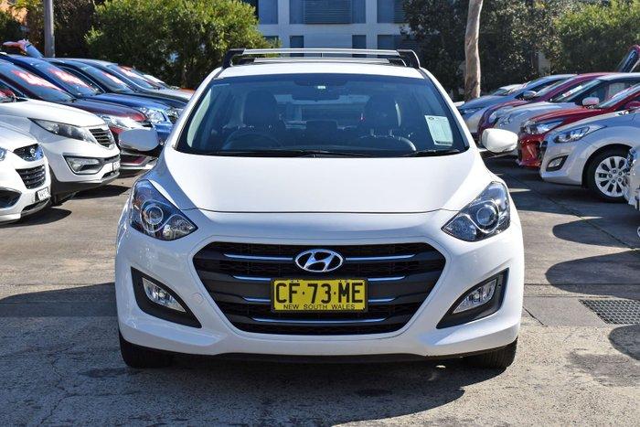 2015 Hyundai i30 Active X GD3 Series II MY16 Creamy White