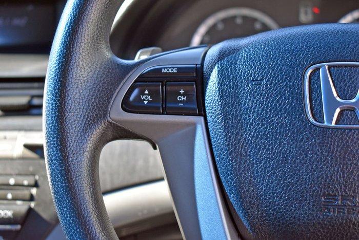2010 Honda Accord Limited Edition 8th Gen MY10 Nighthawk Black
