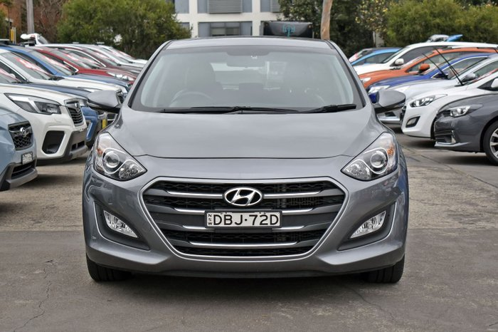 2015 Hyundai i30 Active X GD3 Series II MY16 Hyper Silver