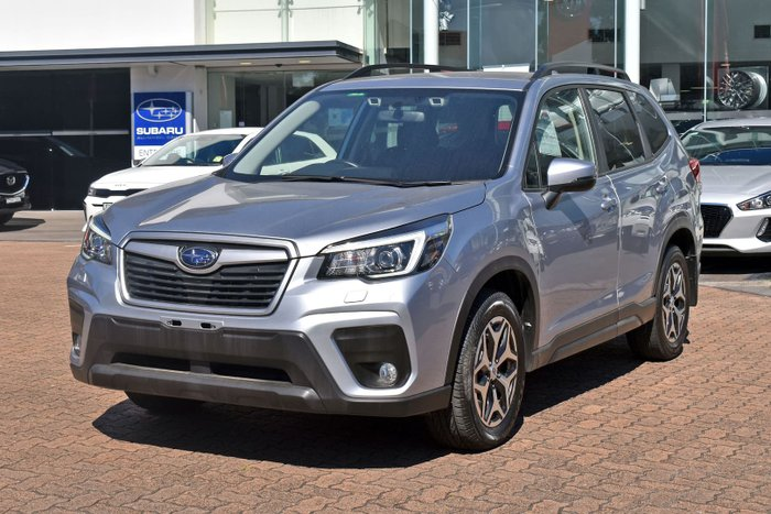 2018 Subaru Forester 2.5i S5 MY19 AWD Ice Silver