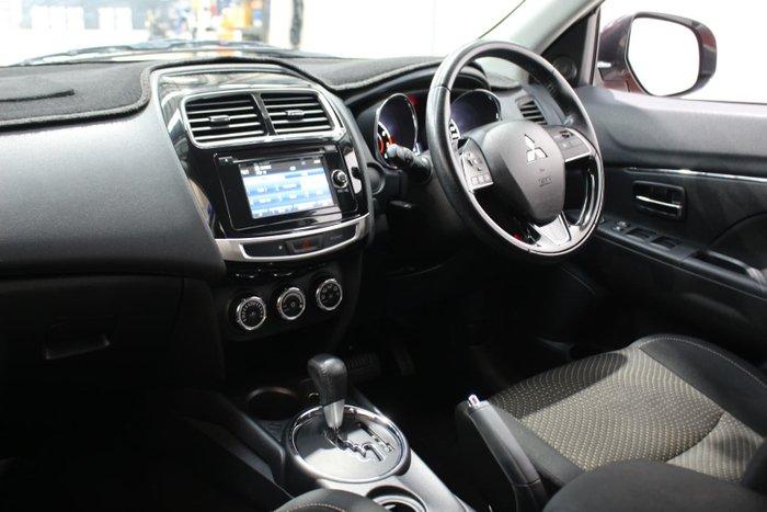 2016 Mitsubishi ASX LS XB MY15.5 Red