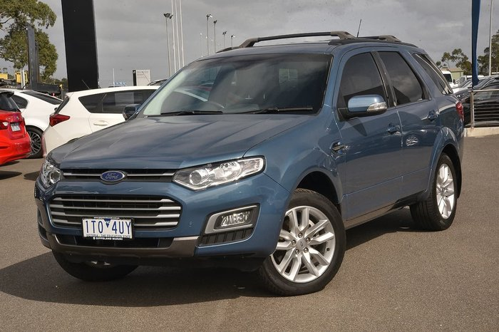2016 Ford Territory TS SZ MkII Blue