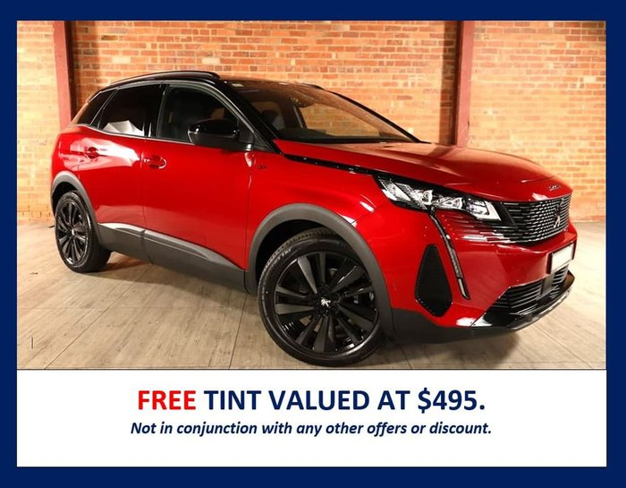 2021 Peugeot 3008 GT Sport P84 MY21 Red
