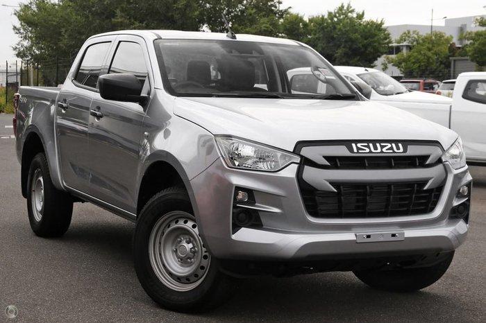 2021 Isuzu D-MAX SX MY21 4X4 Dual Range Silver