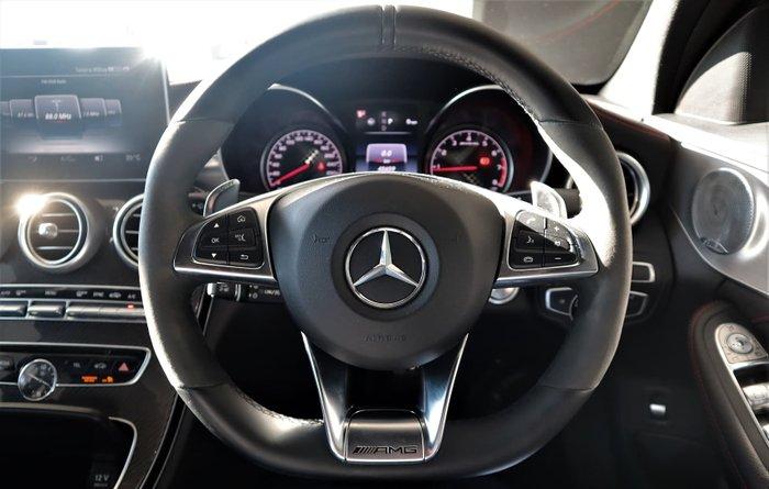 2016 Mercedes-Benz C-Class C43 AMG W205 Four Wheel Drive Black
