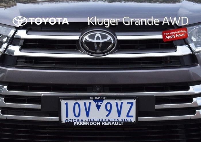 2019 Toyota Kluger Grande GSU55R AWD Grey