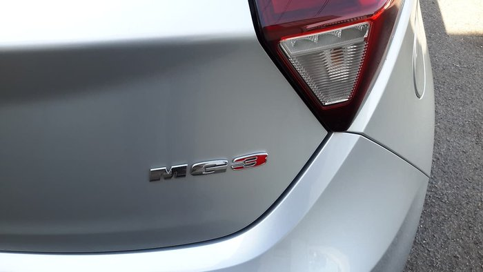 2018 MG MG3 Excite MY18 Silver