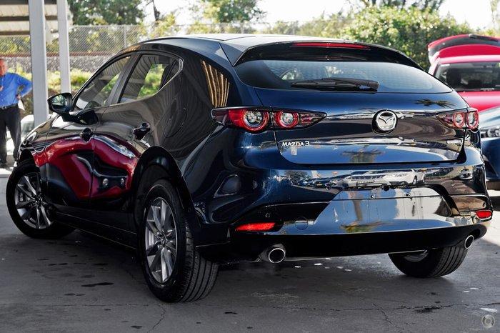 2021 Mazda 3 G20 Pure BP Series Deep Crystal Blue