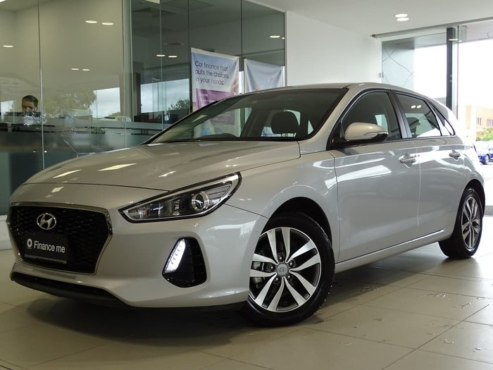 2018 Hyundai i30 Active PD2 MY19 Silver