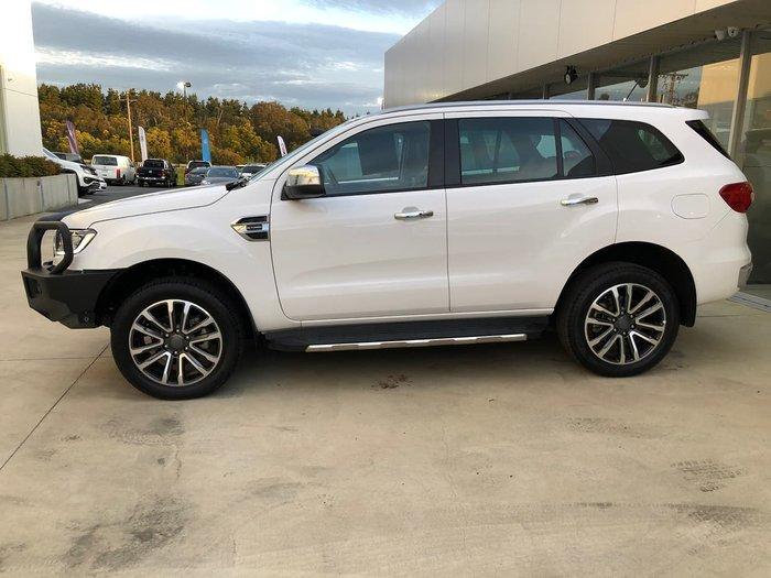 2018 Ford Everest Titanium UA II MY19 4X4 Dual Range White