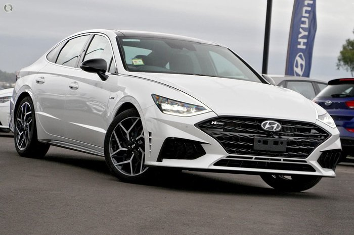 2021 Hyundai Sonata N Line DN8.V1 MY21 White