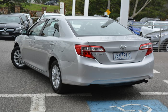 2013 Toyota Camry Altise ASV50R Silver Pearl