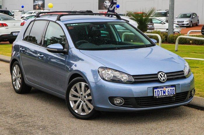 2011 Volkswagen Golf 118TSI Comfortline VI MY11 Blue
