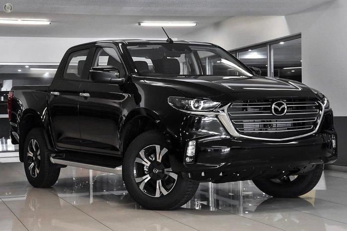 2021 Mazda BT-50 XTR TF 4X4 Dual Range Black