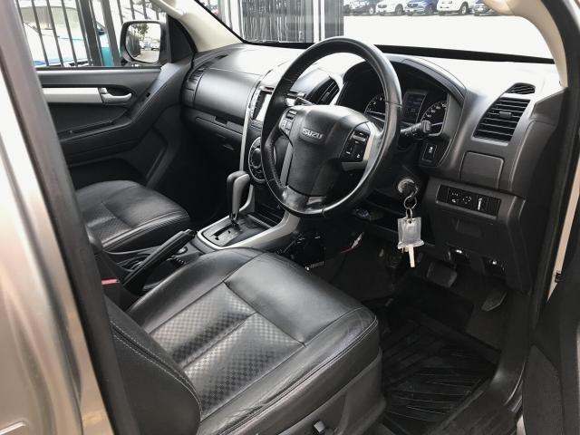 2014 ISUZU D-MAX 2014 ISUZU D-MAX LS-TERRAIN HI-RIDE (4x4) AUTO CREW CAB UTILITY DT4 DIESEL GOLD