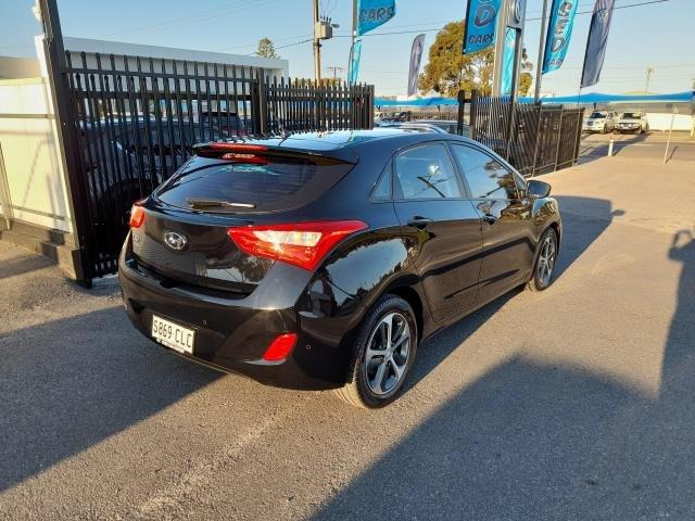 2015 Hyundai i30 2015 Hyundai GD3 I30 HATCH 1.8P ACTIVE X AUTO (A5S6N361FGG232) Black