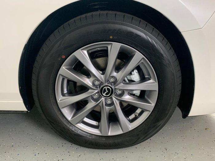 2021 Mazda 3 G20 Pure BP Series Snowflake White Pearl
