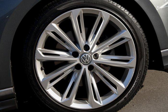2016 Volkswagen Passat 206TSI R-Line B8 MY17 Four Wheel Drive Indium Grey