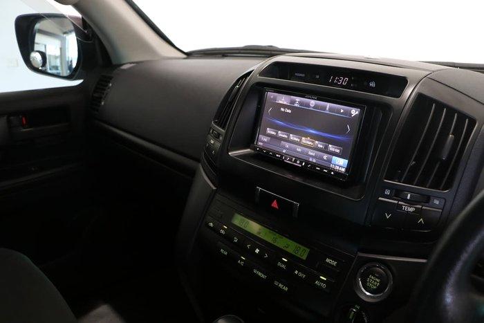2012 Toyota Landcruiser GXL VDJ200R MY12 4X4 Constant Blue