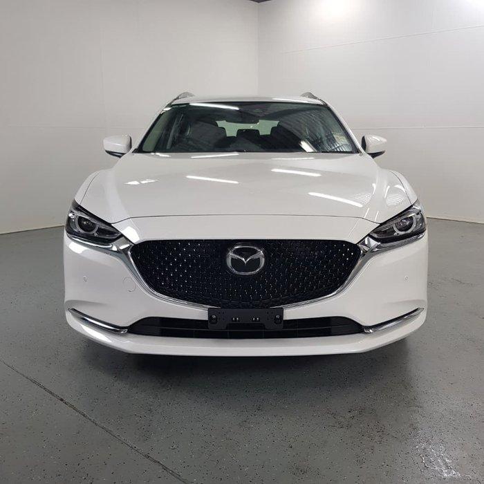 2021 Mazda 6 Touring GL Series Snowflake White Pearl