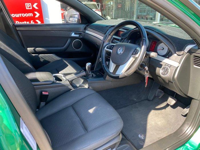 2010 Holden Ute SV6 VE MY10 Poison Ivy