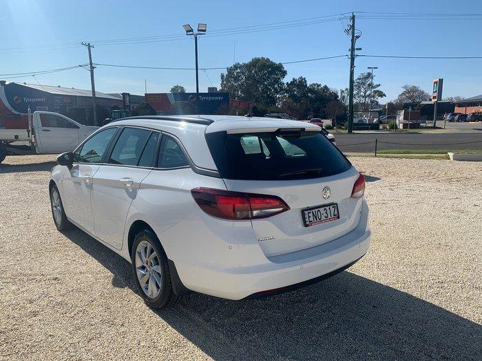 2018 Holden Astra LS+ BK MY18 White