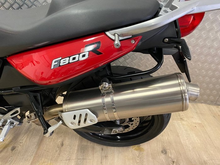 2012 BMW F 800 R RED