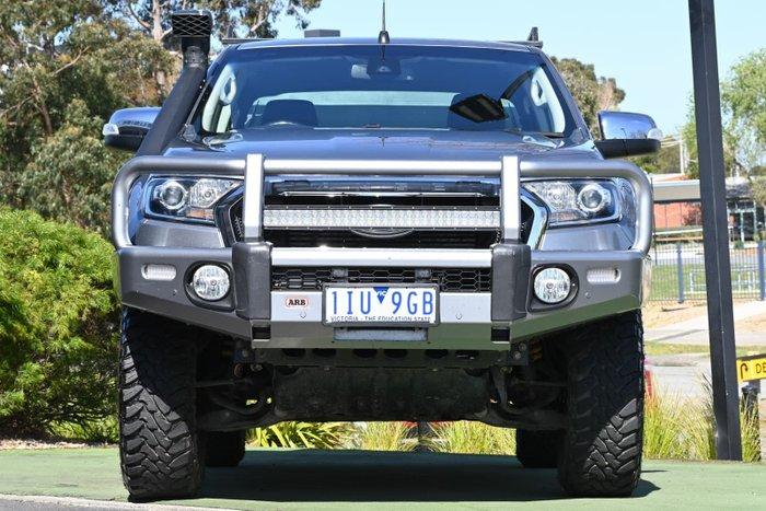 2016 Ford Ranger XLT PX MkII 4X4 Dual Range Aluminium