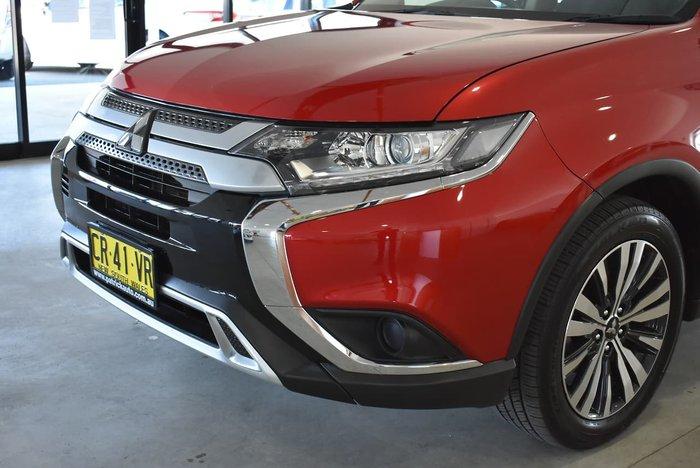 2018 Mitsubishi Outlander ES ZL MY19 Red