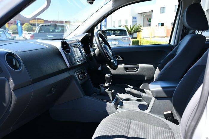 2014 Volkswagen Amarok TDI400 Highline 2H MY15 4X4 Dual Range White