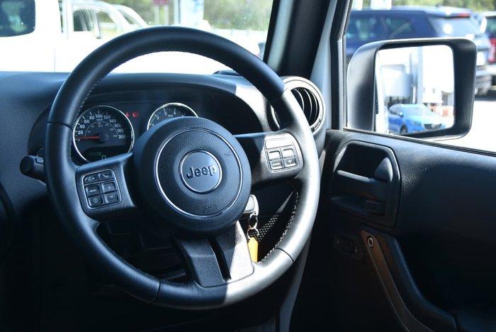 2018 Jeep Wrangler Sport JK MY18 4X4 Dual Range White