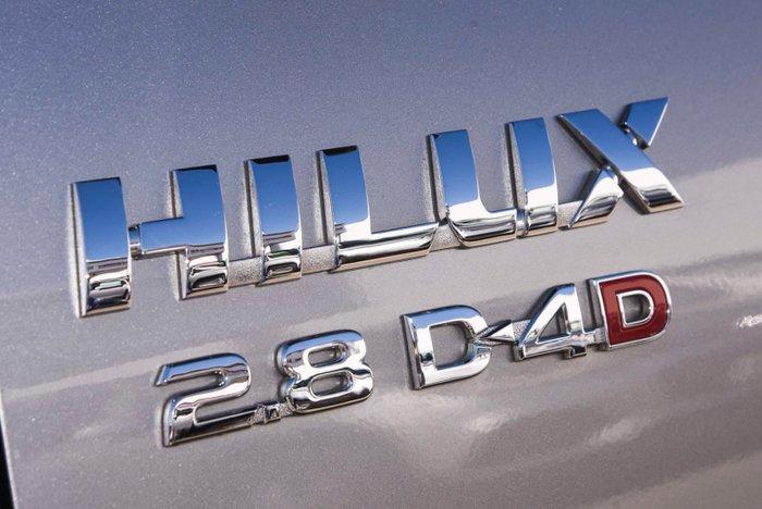 2018 Toyota Hilux SR5 GUN126R 4X4 Dual Range Silver Sky