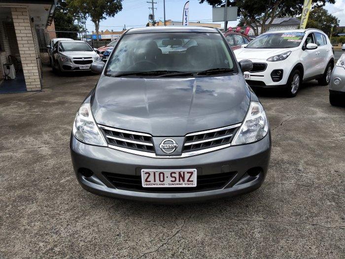 2011 Nissan Tiida ST C11 S3 Slate Grey