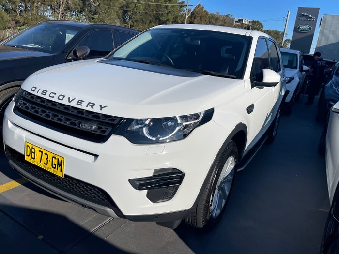 2017 Land Rover Discovery Sport SD4 SE L550 MY18 4X4 On Demand Fuji White