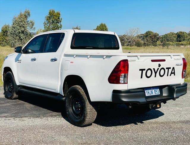 2017 Toyota Hilux SR GUN126R 4X4 Dual Range Glacier White