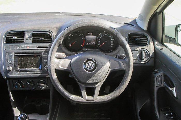 2015 Volkswagen Polo 66TSI Trendline 6R MY15 White
