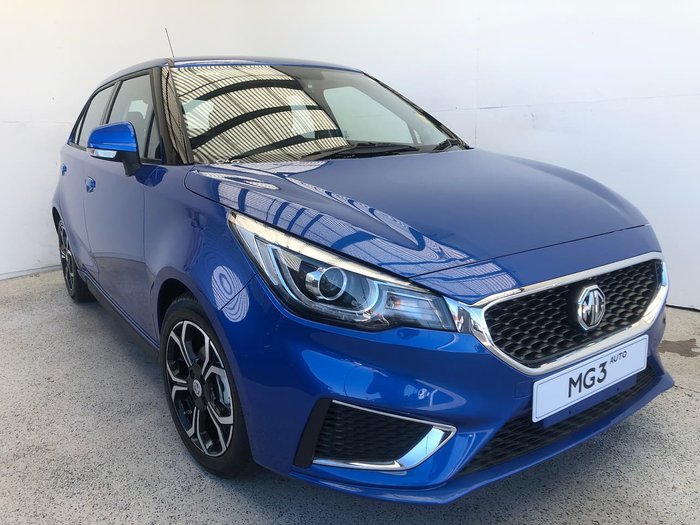 2021 MG MG3 Excite MY21 Blue