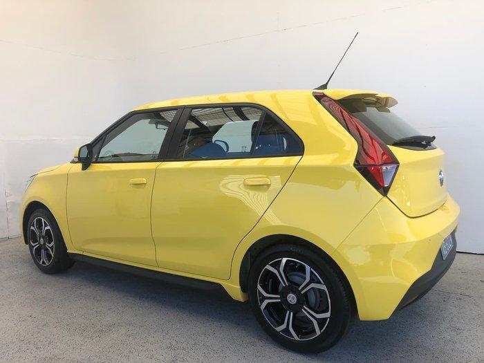 2021 MG MG3 Excite MY21 Yellow