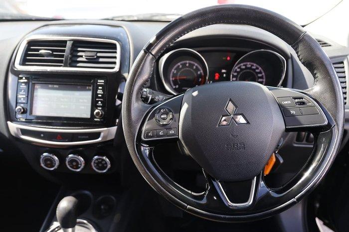 2017 Mitsubishi ASX LS XC MY17 Black