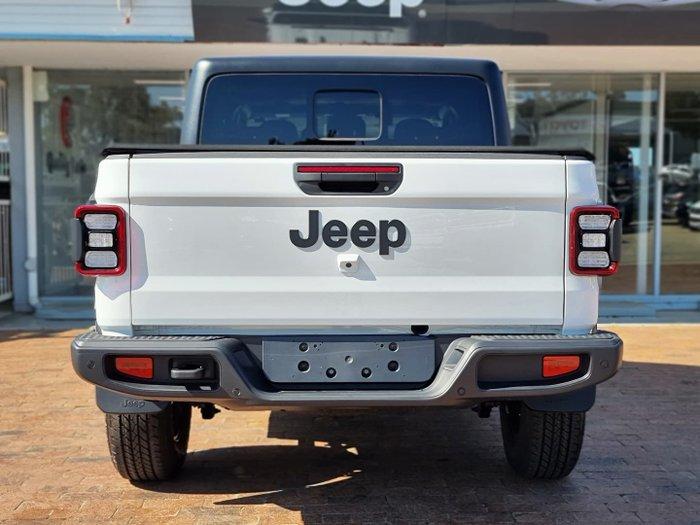 2021 Jeep Gladiator Night Eagle JT MY21 V2 4X4 On Demand Bright White