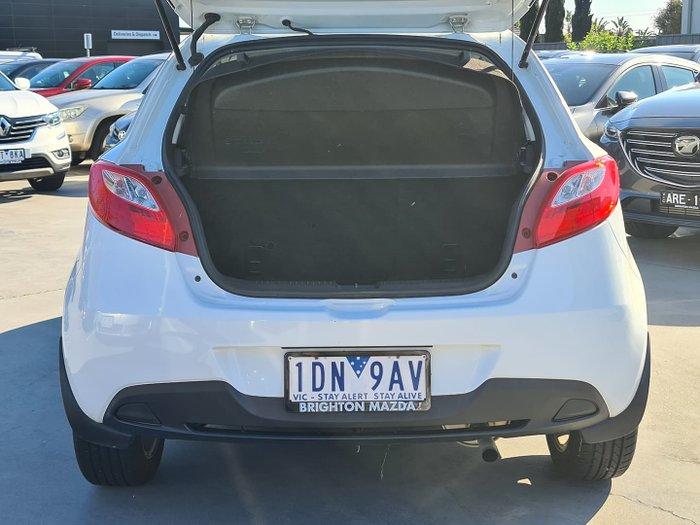 2014 Mazda 2 Neo Sport DE Series 2 MY14 Crystal White Pearl