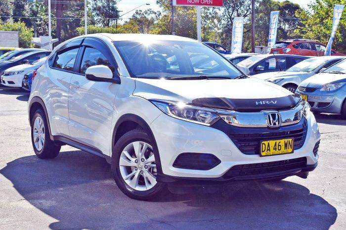 2019 Honda HR-V VTi MY19 Taffeta White