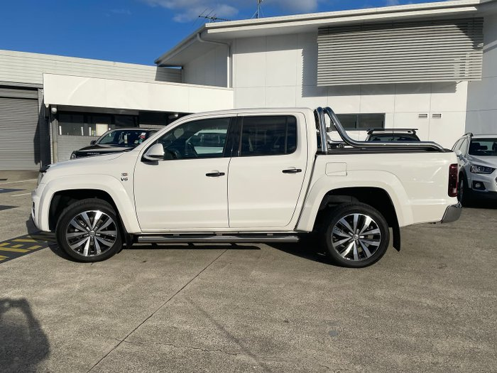 2019 Volkswagen Amarok TDI580 Ultimate 2H MY19 4X4 Constant Candy White