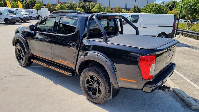 2019 Nissan Navara N-TREK Warrior D23 Series 4 4X4 Dual Range Cosmic Black