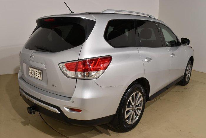 2015 Nissan Pathfinder ST R52 MY15 Brilliant Silver