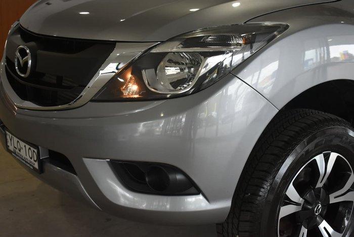 2018 Mazda BT-50 XT UR 4X4 Dual Range Silver