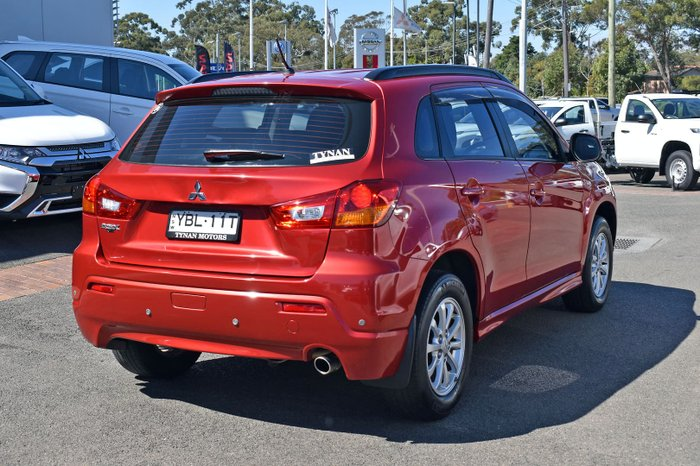 2011 Mitsubishi ASX XA MY12 Red