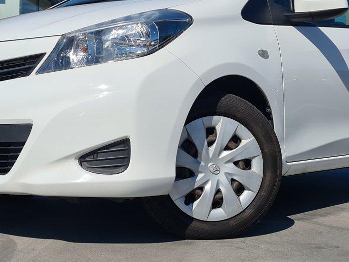 2013 Toyota Yaris YRS NCP131R Glacier White