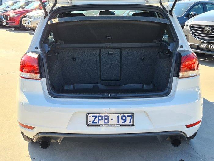 2012 Volkswagen Golf GTI VI MY12.5 Candy White
