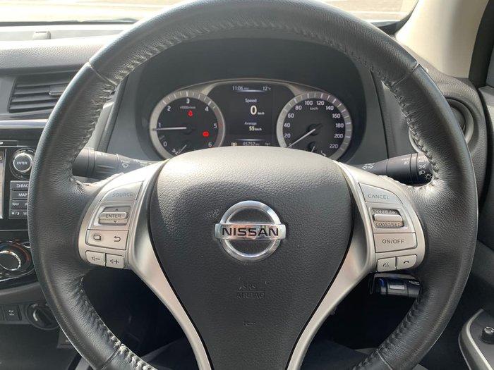 2018 Nissan Navara ST Black Edition D23 Series 3 4X4 Dual Range White